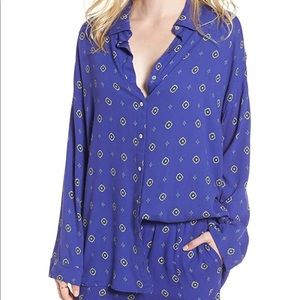 Intimately Free People Sleep Button-Down Shirt